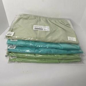 Alfred Dunner Classic Pants Lot Short Petite Green